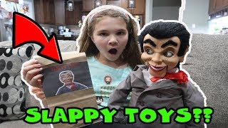 What's In Slappy's Surprise Bags? Slappy Did it!