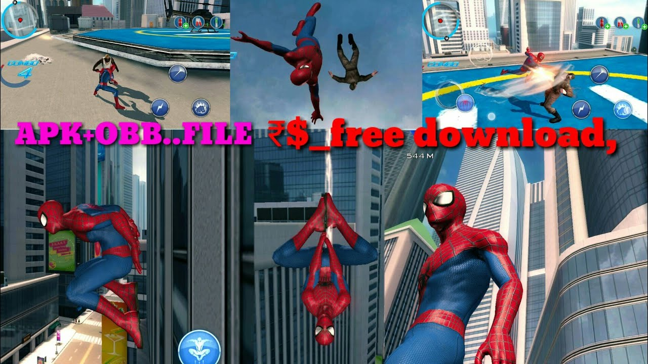 how to download the amazing spider-man 2 from android hindi mai