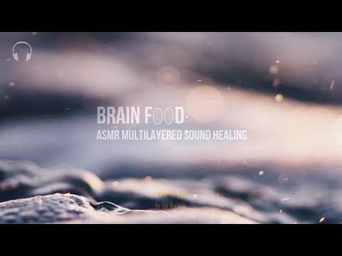 Brain F🧠🧠d 1 hour [ASMR] ★ Sound Healing for tingles, relaxation & sleep ★ [Binaural] [Multilayer]