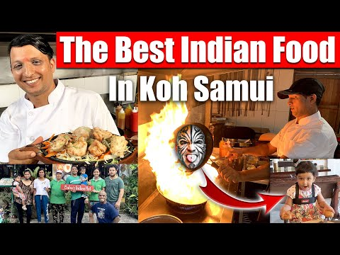 Video #4268 - The Best Indian Food In Koh Samui, Thailand - Babu's India Hot
