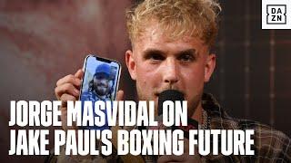 Jorge Masvidal Gives CONFIDENT Prediction for Jake Paul vs. Tyron Woodley