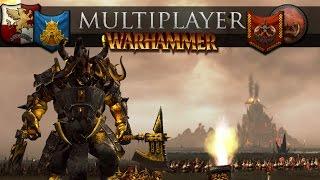 The Chaos Dwarfs March to War (Total War: Warhammer Online Battle #242)
