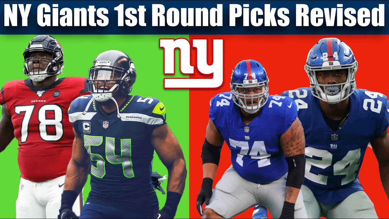 NY Giants 1st Round Draft Picks Revised (2010-Present)