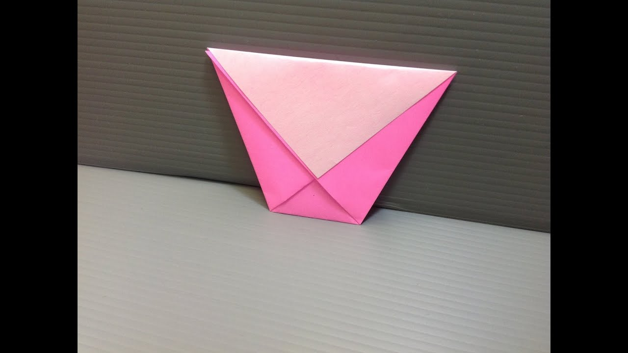 Daily Origami: 007 - Cup - YouTube - photo#34