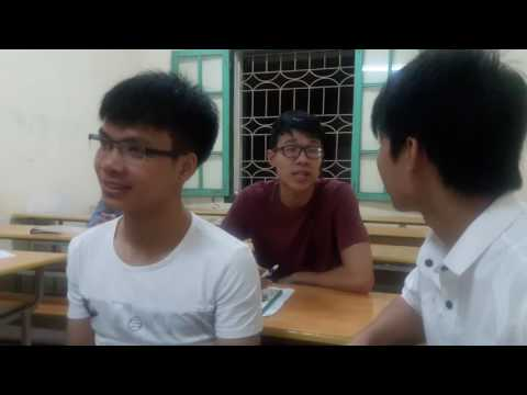 Teaching English to students at Hanoi University, Vietnam