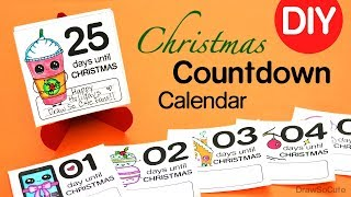 How to Make a Christmas Countdown Calendar | Easy DIY
