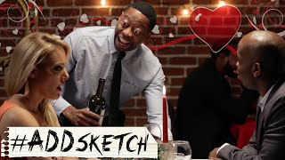 Interracial Date: Valentine's Day Sketch