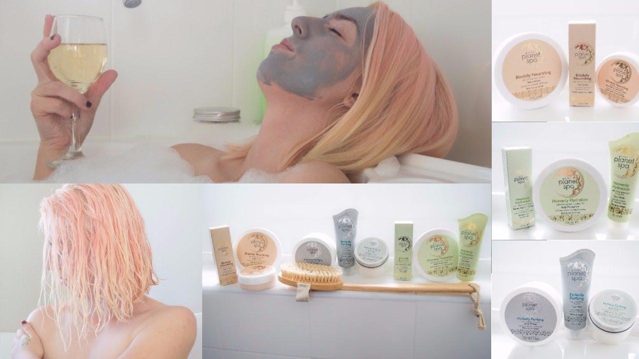 Planet spa facial mud mask