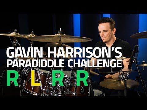 Gavin Harrison's Paradiddle Challenge - Drum Lesson (Drumeo)