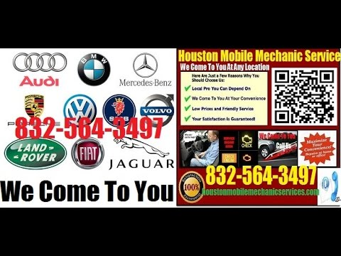 European and German Foreign Auto Repair Houston Mobile Mechanic Car Repair Service