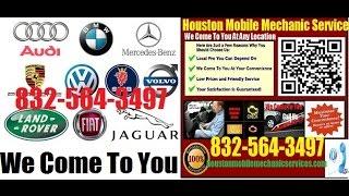 European and German Foreign Auto Repair Houston Mobile Mechani…