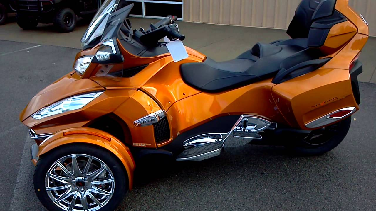 2014 Can Am Spyder Rt S Limited 1300cc 6 Speed Youtube