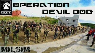 Airsoft WAR: Operation Devil Dog at Camp Pendleton K2 (MilSim) - Part 1