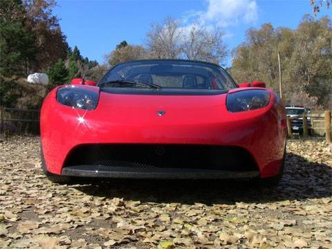 2010 Tesla Roadster first drive review
