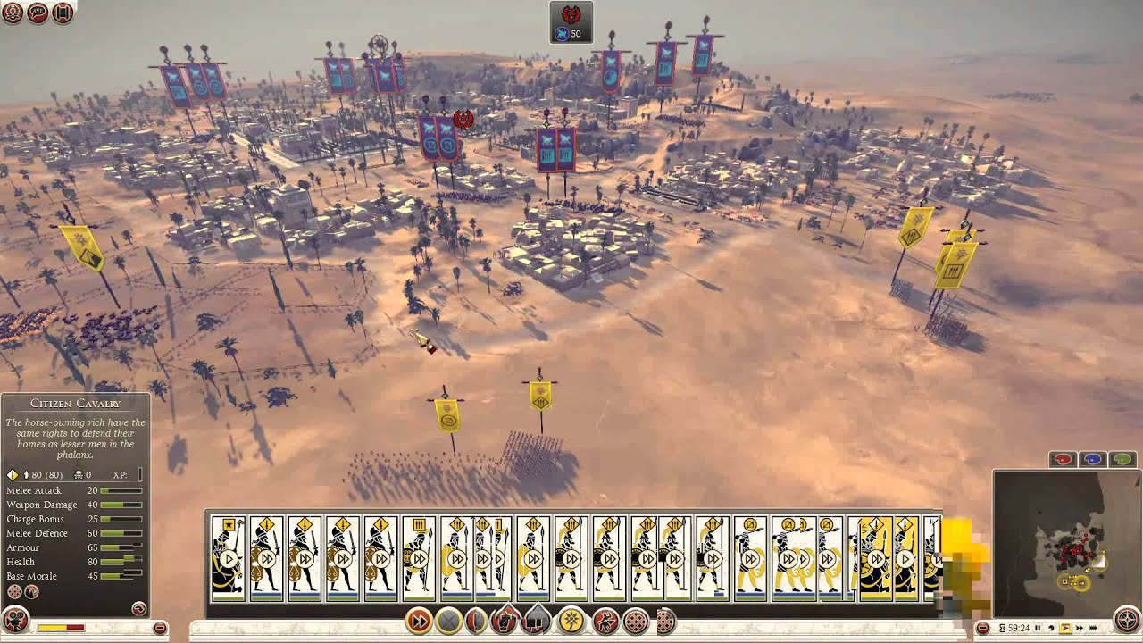 Lets Play Total War ROME II Multiplayer PEGI YouTube - Rome total war map city locations