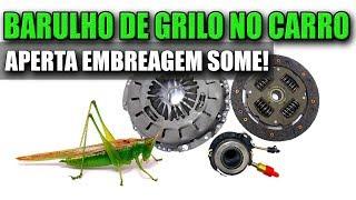 O que é o BARULHO DE GRILO/FERRO QUE MUDA AO PISAR NO PEDAL DA EMBREAGEM?