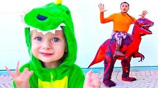 Динозавры - Песня для детей | Детские песни от Майи и Маши