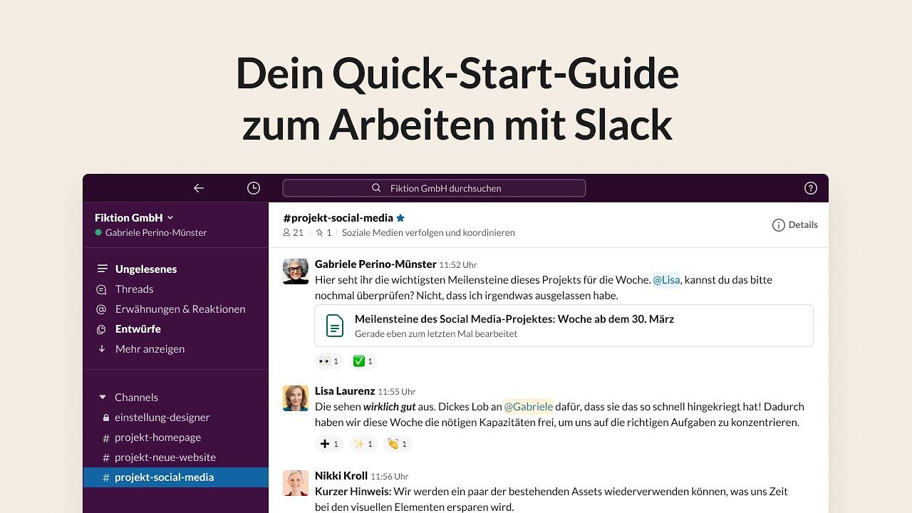 How to use Slack: your quick start guide | Slack