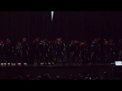 Broadway Teachers Glow stick dance 2016