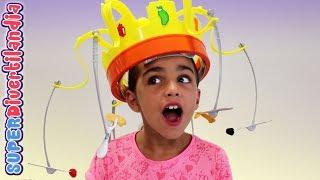 Chow Crown! 👑 CORONA DE LAS DELICIAS 🍒 Juego de Mesa de Hasbro.