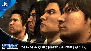 The Yakuza Remastered Collection - Yakuza 4 Launch Trailer | PS4