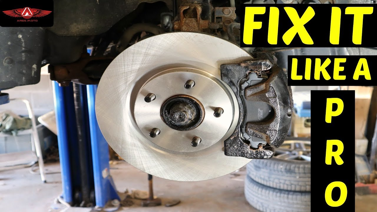 Jeep Patriot 4x4 Front Pads  U0026 Rotors Replacement