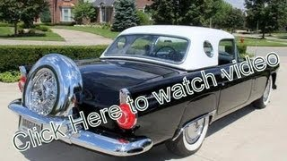 1956 Ford Thunderbird Convertible Classic Muscle Car for Sale in MI Vanguard Motor Sales