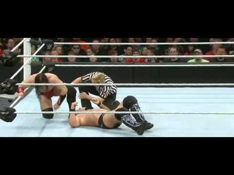 WWE Raw 3/14/16: Neville Injury ( Chris Jericho Vs Neville ) Full Match
