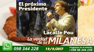 El próximo presidente de los uruguayos Lacalle Pou
