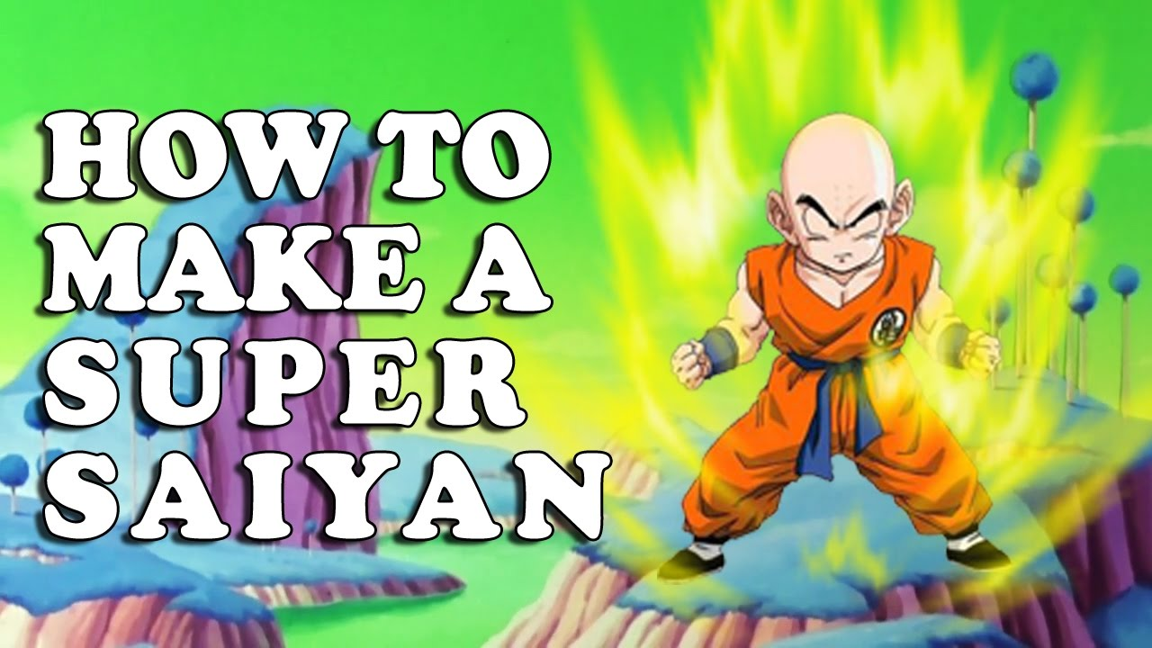 How To Make A Super Saiyan Effect In Photoshop