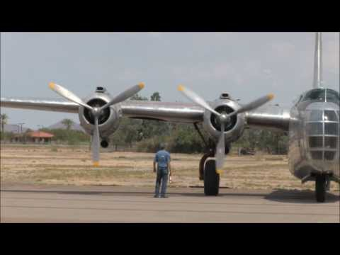 PB4Y-2 departure for Thunder Over the Coconino Fly-In 2013
