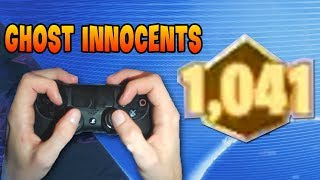 Ghost Innocents Gets 1041 Points (Best Controller Player!) | GodLike Fortnite