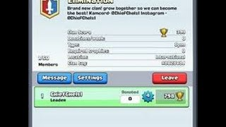 How To Make A Clan For Free In Clash Royal !!