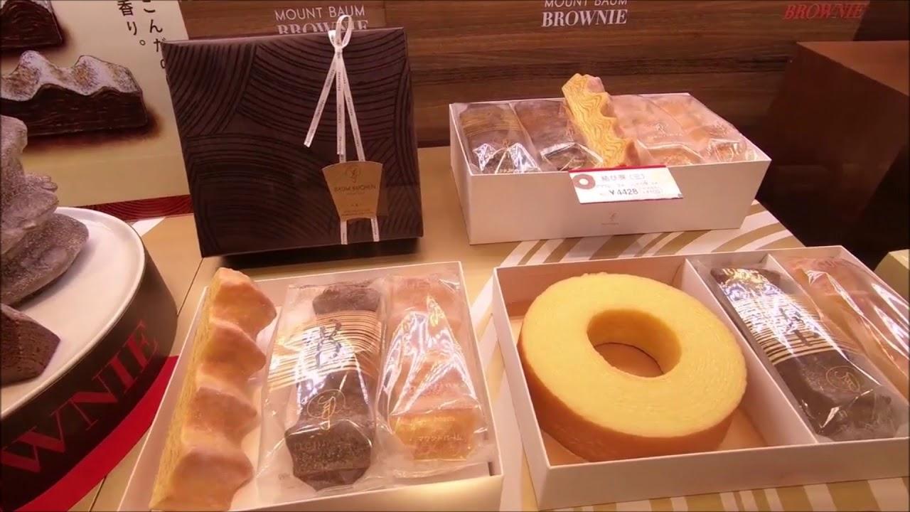 Japanese food and desert in Hankyu department store