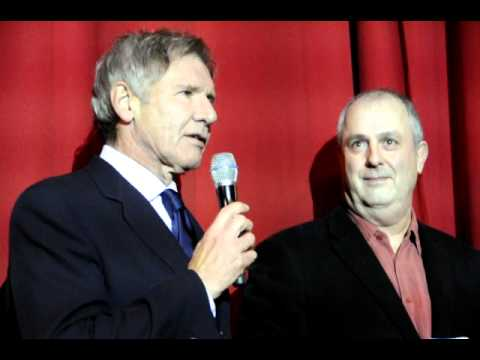 "Bühnenpräsentation ""MORNING GLORY"" Deutschlandpremiere Harrison Ford"