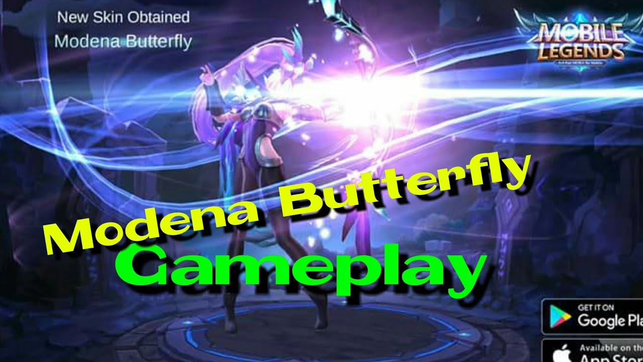 Mobile Legends Miya Modena Butterfly Gameplay Youtube