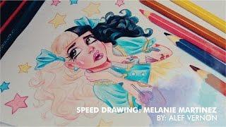 Melanie Martinez - Pacify Her Disney Style - Speed Drawing