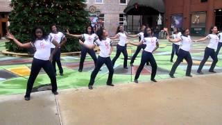 Colonial CAPA Dancing -  Rockeyfeller Holiday Show