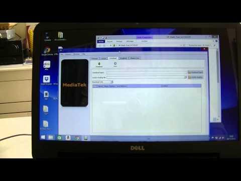 SP Flash tool - Flasher un Smartphone Mediatek