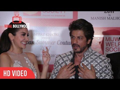 Superstar Shah Rukh Khan And Gorgeous Anushka Sharma Full Interview | Mijwan - Summer 2017 Show