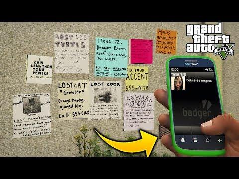 ¿Que Pasa Si Llamamos A Los Numeros Extraños Y Secretos De GTA 5?