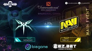 Mineski vs Navi  | Best of 1 | Lower bracket | Main Stage | The International 9