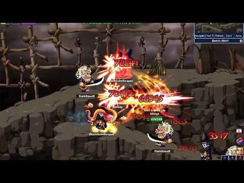 Soul Saver Online  Sword MasterJustice Fencer third job in Deadmans Valley