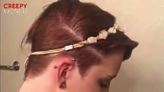 A Bully Pours Super Glue In Her Hair, But What She Does Next Shocks Them All