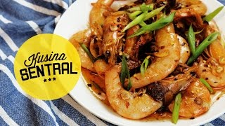 Buttered Garlic Shrimp | New Filipino Cooking Channel | Kusina Sentral