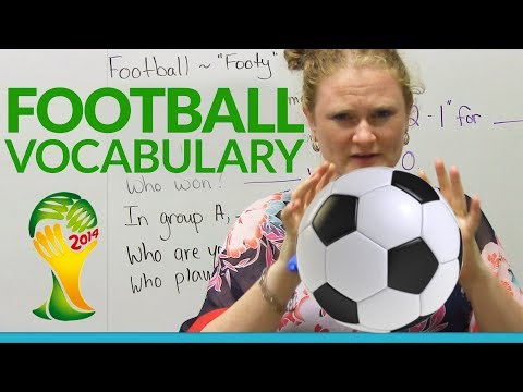 Learn English: FOOTBALL Vocabulary