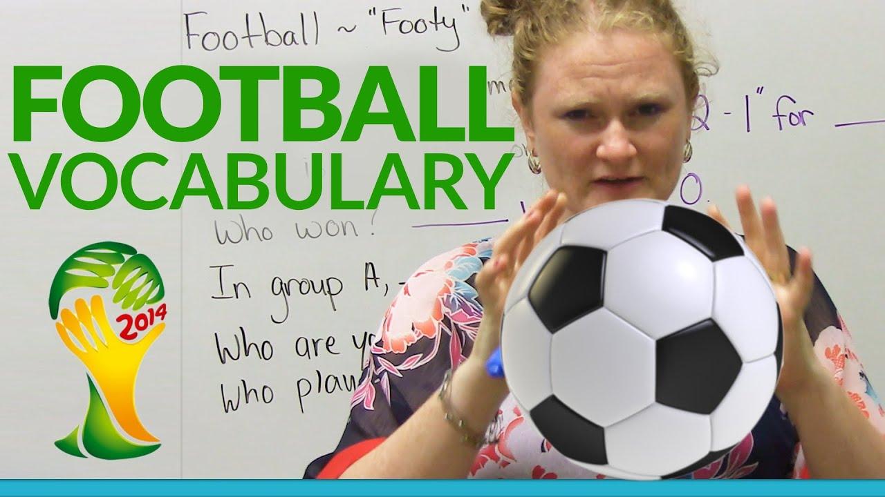 Футбольная лексика и английский