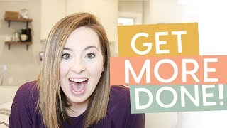 How to Be More PRODUCTIVE | My 5 Productivity Hacks