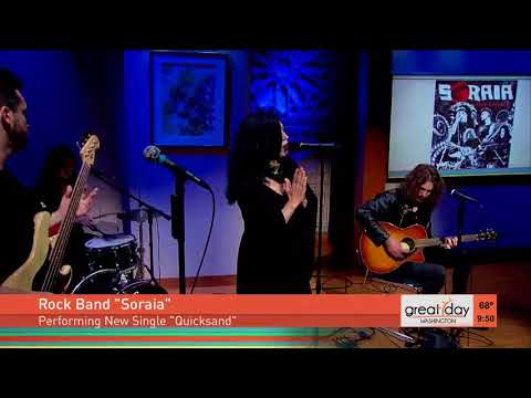High energy rock band Soraia performs...