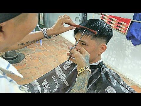 Hướng dẫn cắt mái và tạo kiểu tóc thích hợp cho người có khuôn mặt Gầy và dài hiệu quả nhất...!